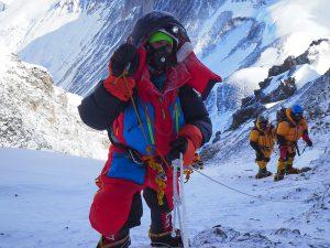 Everest-Lhotse Back to Back - Mariam Ktiri
