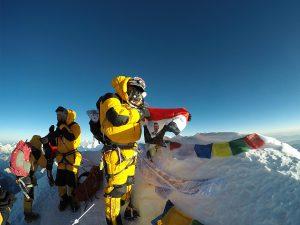 Everest Summit 8848m - Samer Akkad