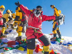 Everest Summit - Nadhira el harthy