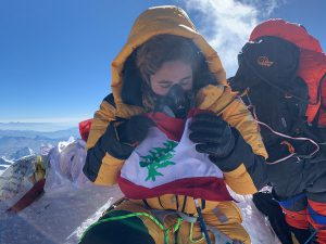 Everest summit 8848m - Tima Deryan