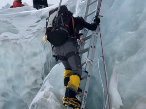 Ice Fall Climb - Ralph Kisso
