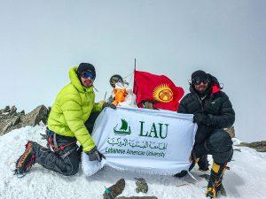Lenin Peak Summit - LAU Team