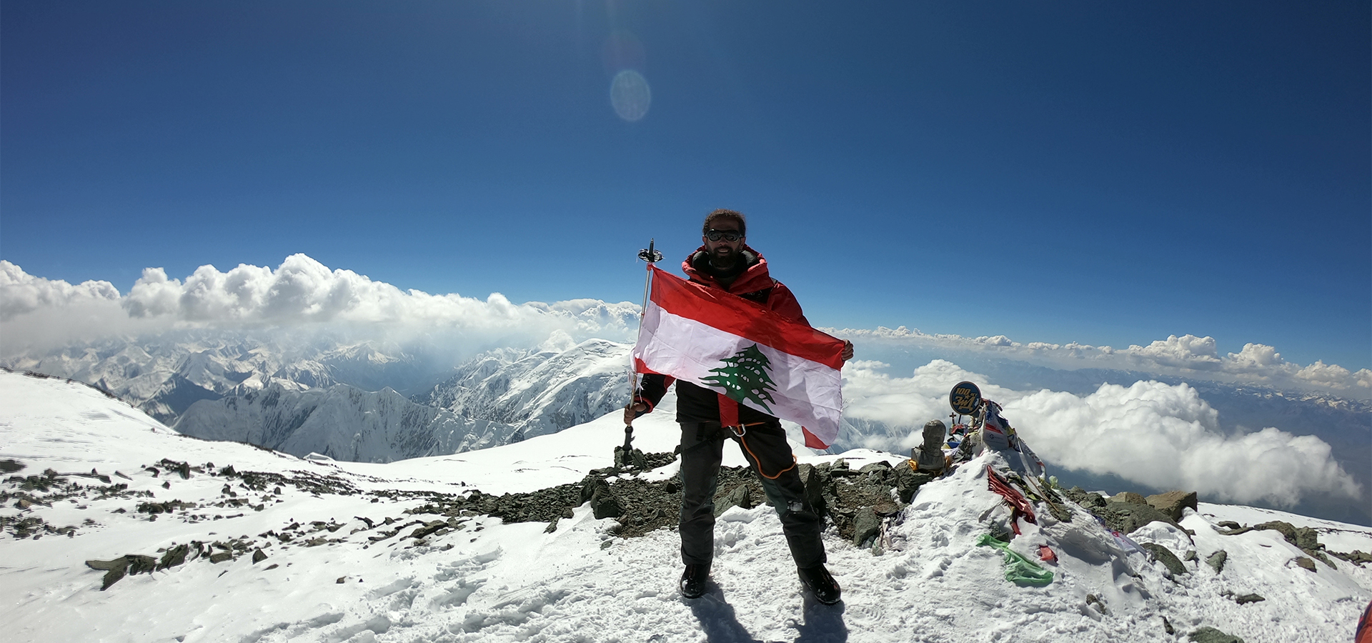 Lenin Peak Summit - Samir Akil