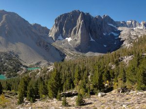 Mount Alice and Temple Crag in the Sierra Nevada. Image credits: Miguel.
