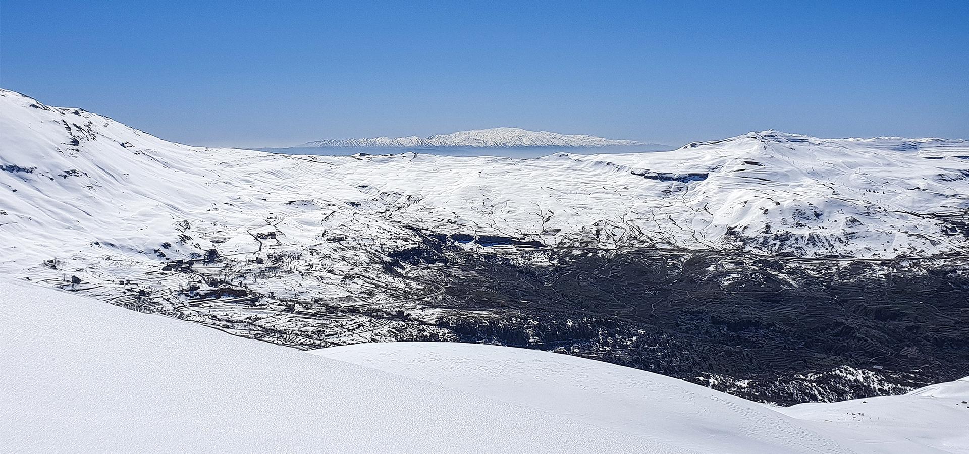 Mt Hermon from Sannine - Mario Fares
