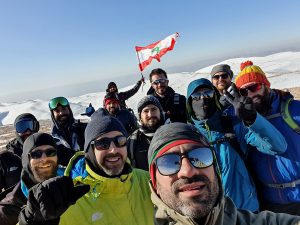 Qornet Sawda - Lebanon highest peak in November