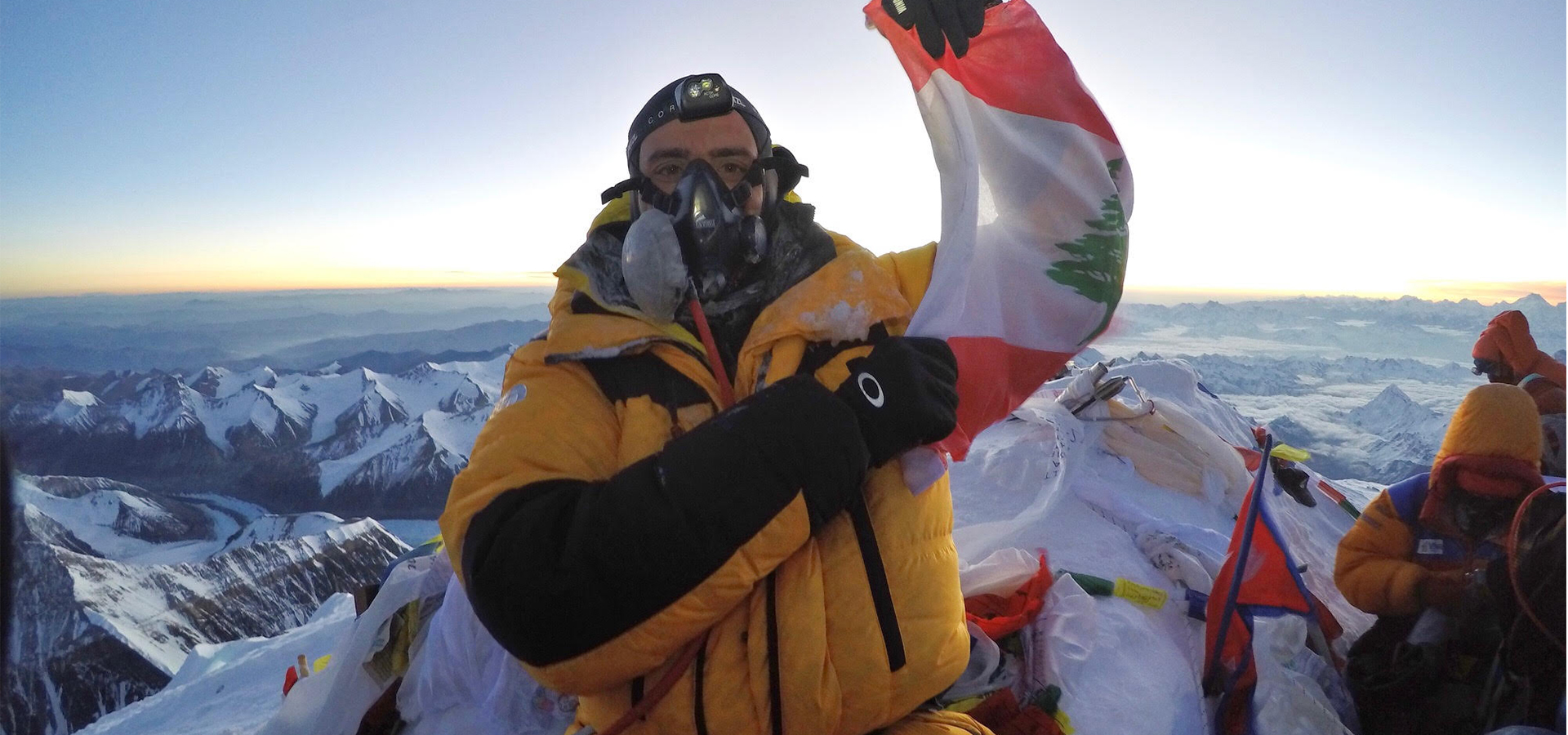 Ralph Kisso Everest Summit