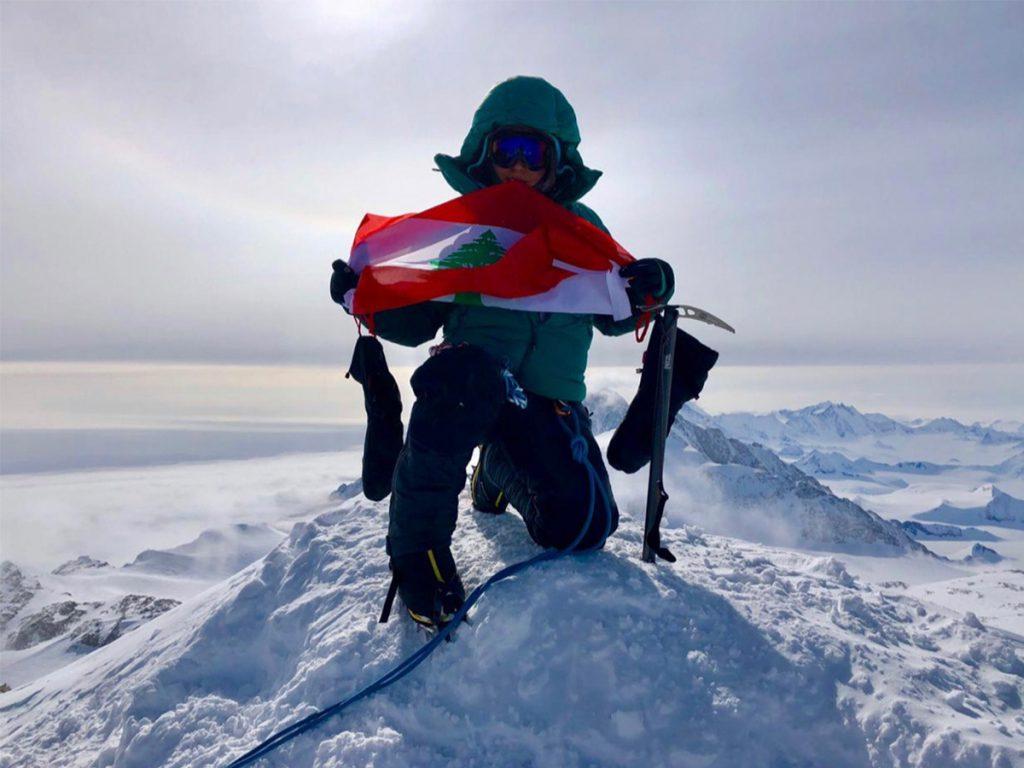 Rawan Dakik - Vinson Summit