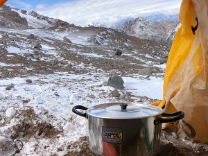 Tent at Everest Base Camp - Ralph Kisso