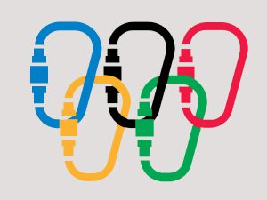 Beautiful new design of the olympic rings - by Ihaas