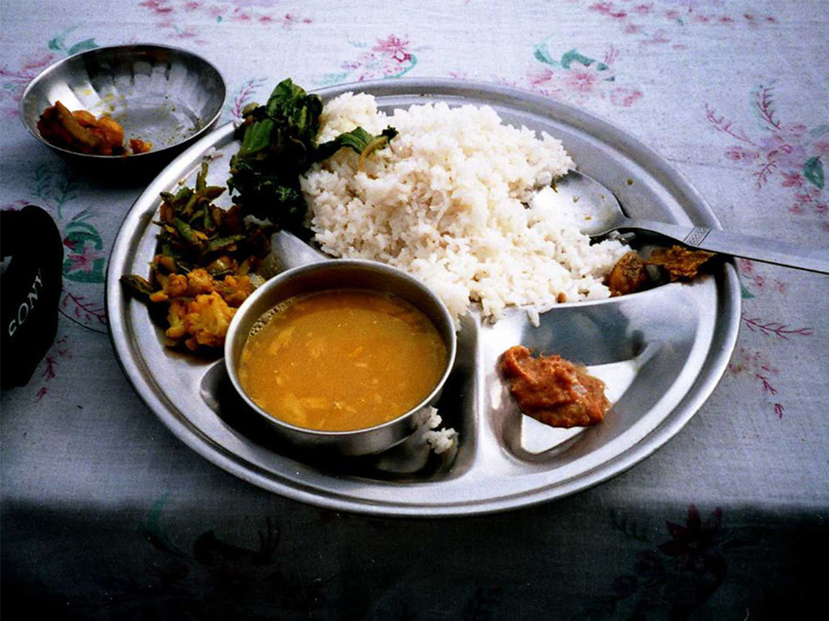 Dal Bhat - Traditional Nepalese Food
