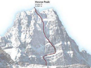 Howse Peak - SOREN WALLJASPER, NG STAFF; PHOTO GRAEME WALLACE, SOURCE ALPINIST