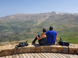 Section 1 as seen from section 2 (Zaarour Hills Summit) - Nicole Assaf & Joey Khalil