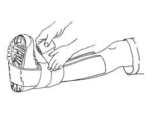 U-shaped splint