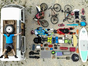 Camper Van & gears