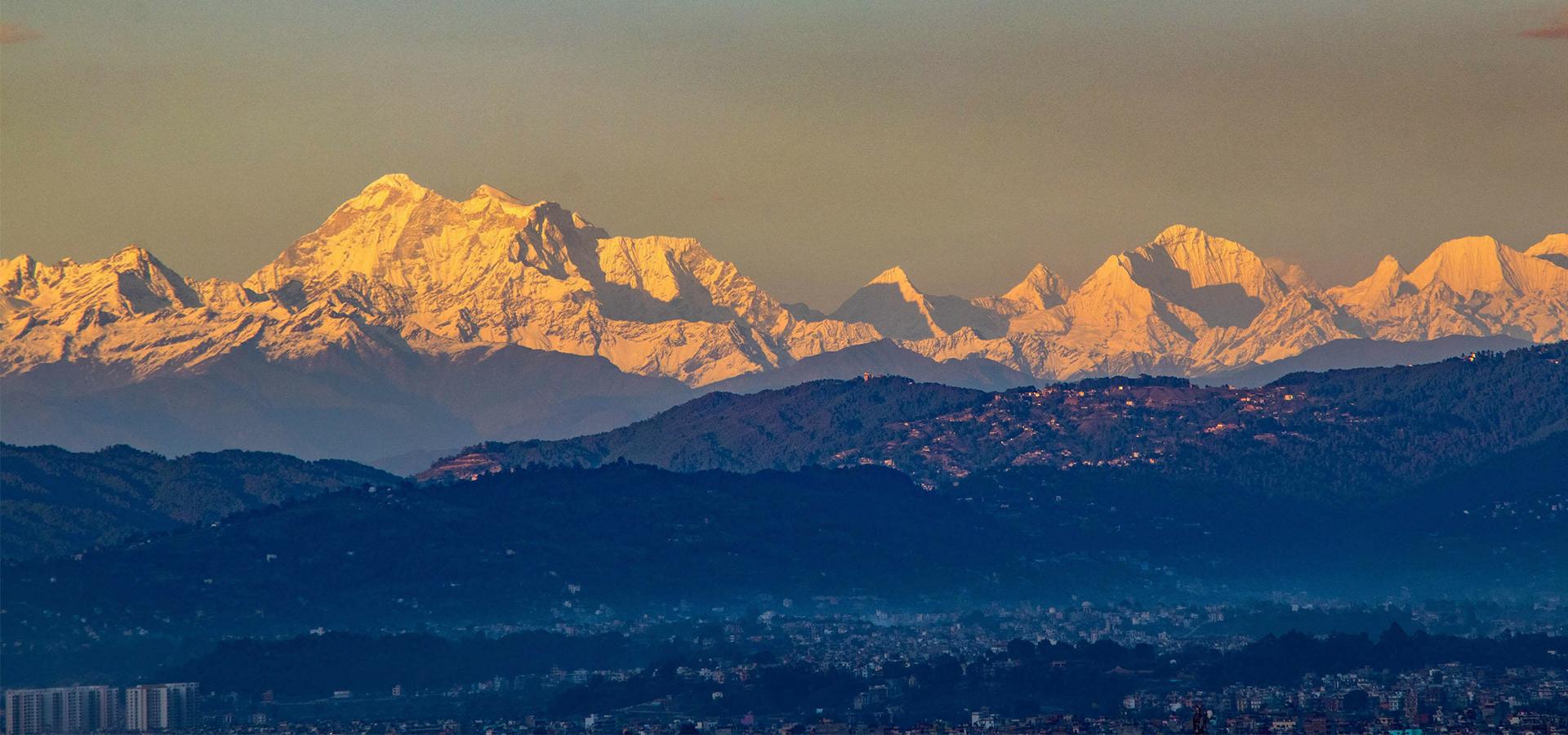 Gauri Shankar, Kang Nachugo, Mt Everest, Chobutse . Credits Abhushan Gautam