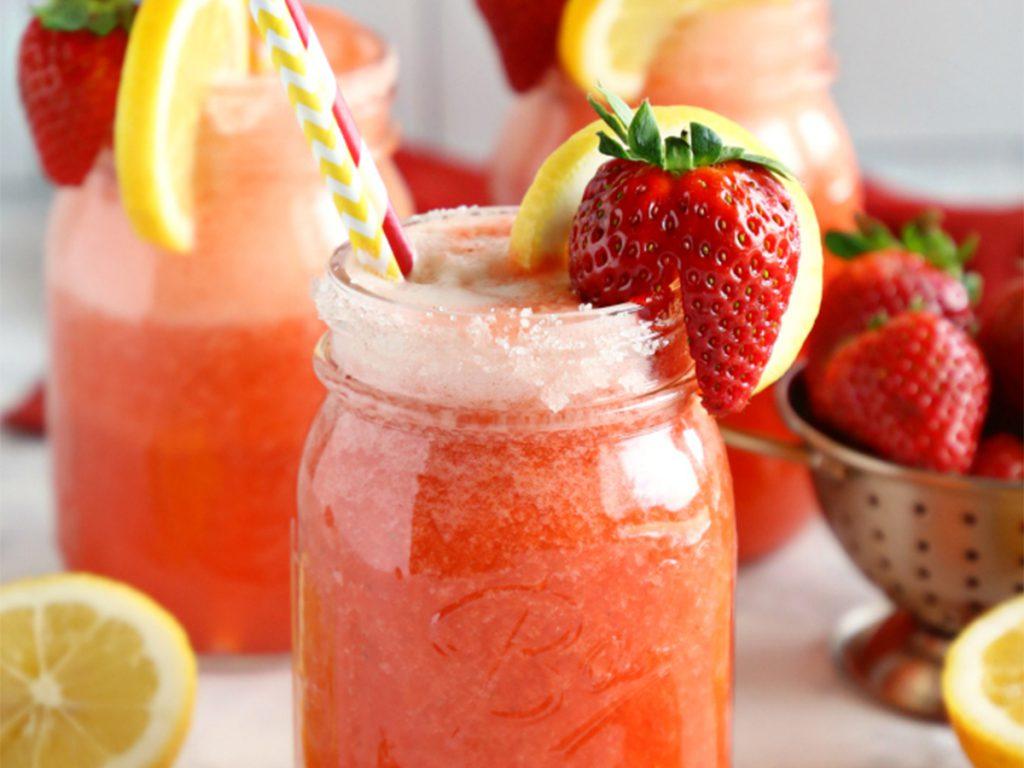Strawberry Lemonade Electrolyte Drink