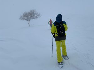 Hiking in bad visibility - David Rouphael & Tarek Tabcharani