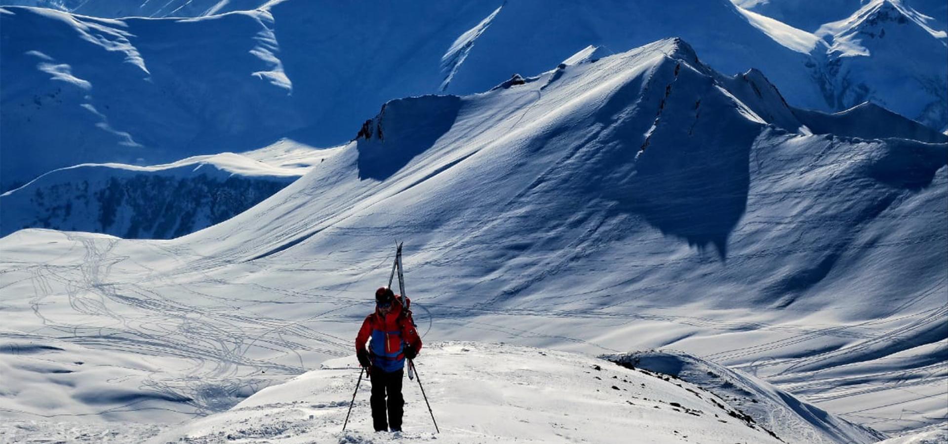 Image Credits George Saado - Skitouring in georgia