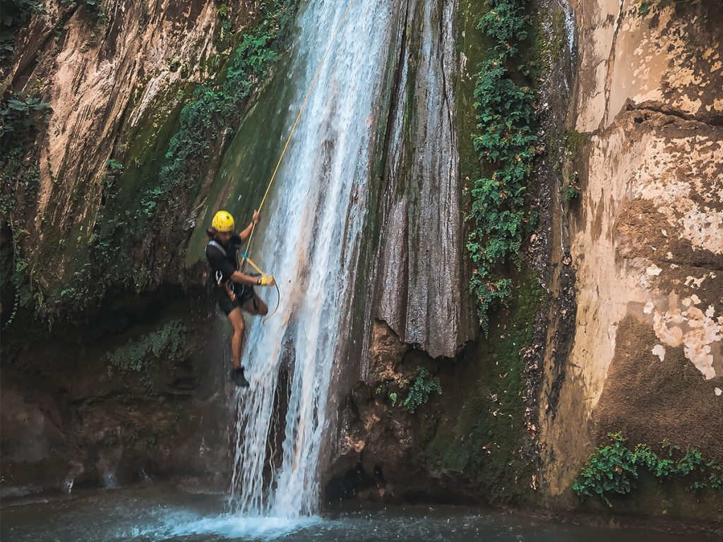 canyoning in Lebanon image credit :Tony Issa