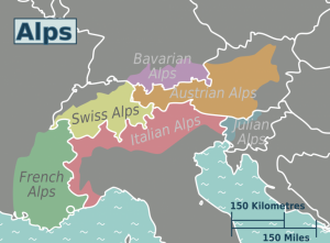 the Alps (map) Credit WikiUser Drat70hh