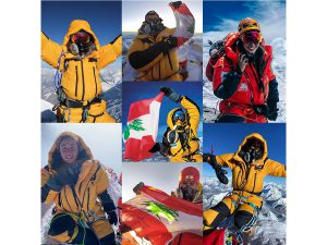 Lebanese on Everest summit